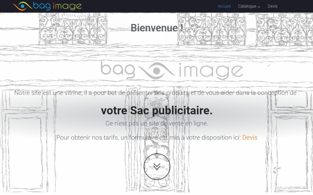 Société Bag Image – Site Web Vitrine