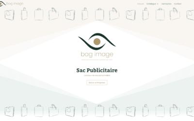 Web design pour la société Bag Image